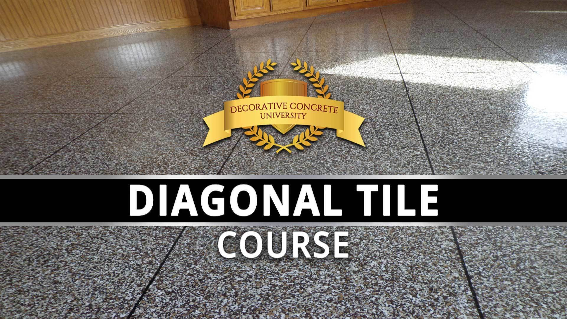 Diagonal Tile  – How to Design – Step By Step